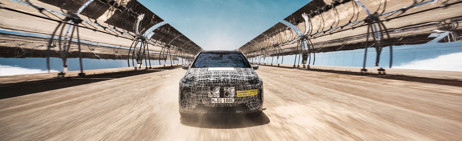 BMW iNEXT moves on to the next level of testing in the deserts of South Africa
