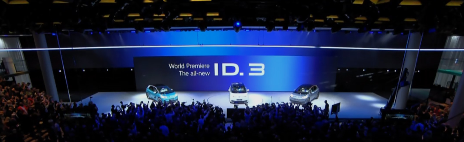 Volkswagen unveils the ID. Family, ID.3, new logo
