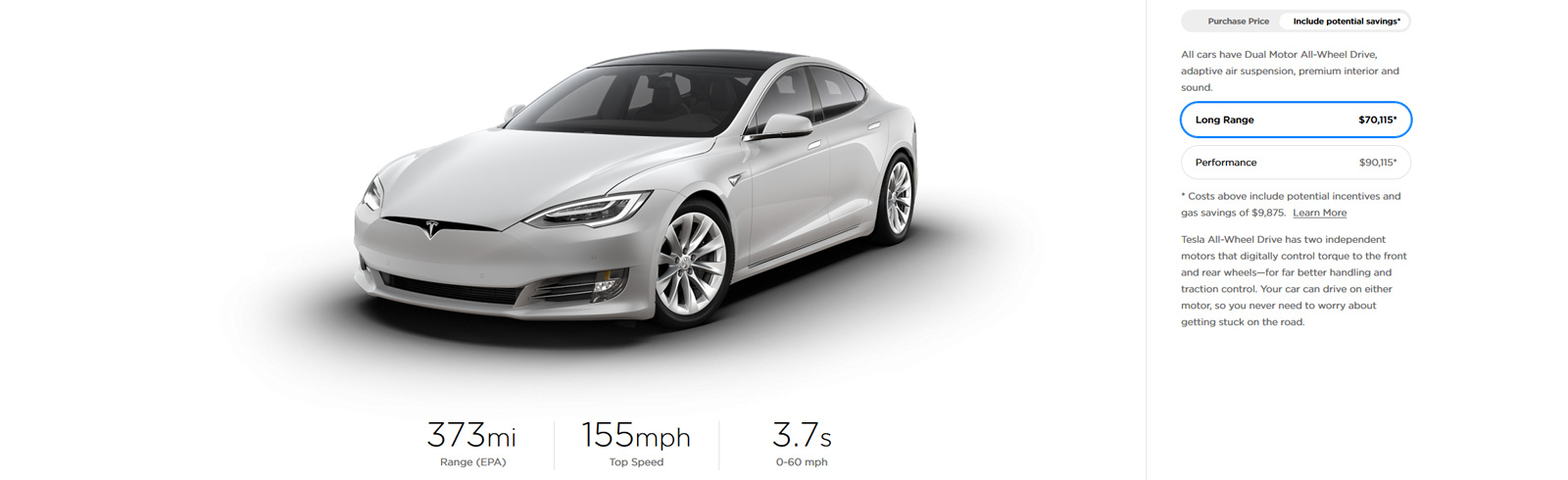 Tesla Model S and Model X range increased by 3 miles