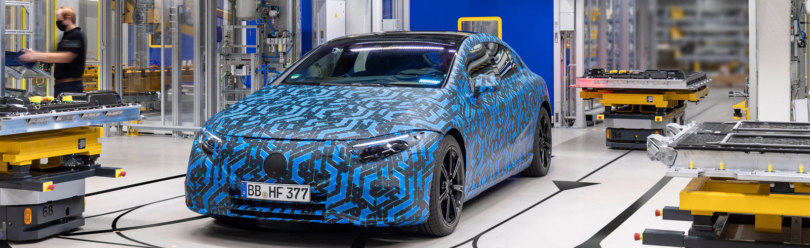 Mercedes-Benz will launch 6 new electrified EQ models by 2022