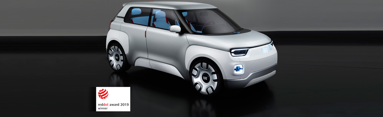 The Fiat Concept Centoventi receives a Red Dot Award 2019