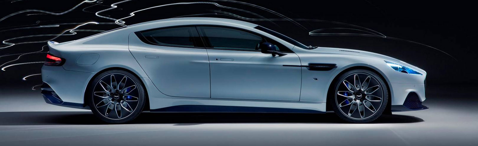 Aston Martin Rapide E will debut this weekend at the Fully Charged Live in the UK