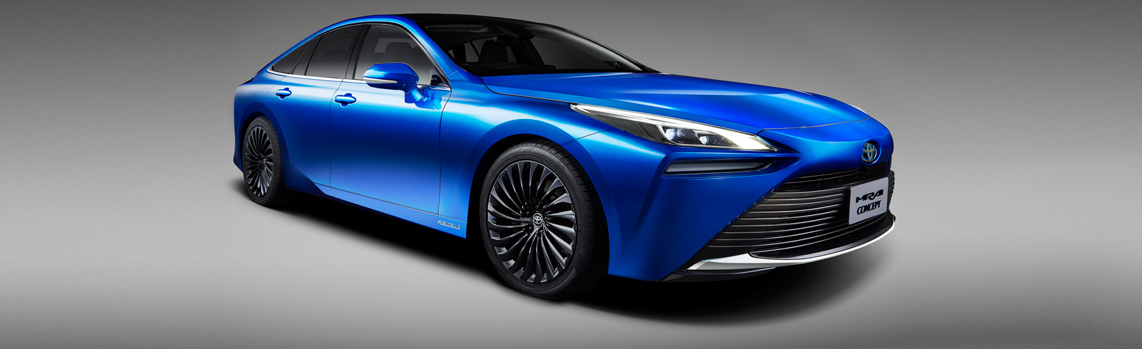 The next-generation Mirai Concept from Toyota looks stunning