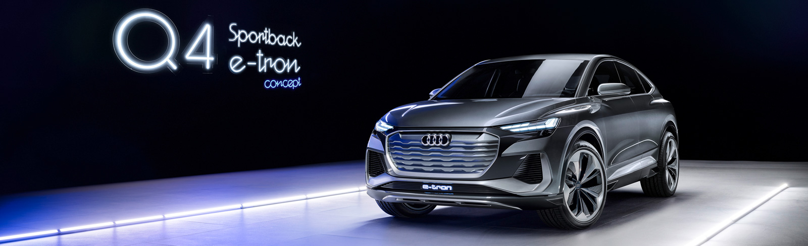 2020 Audi Q4 Sportback e-tron concept goes official