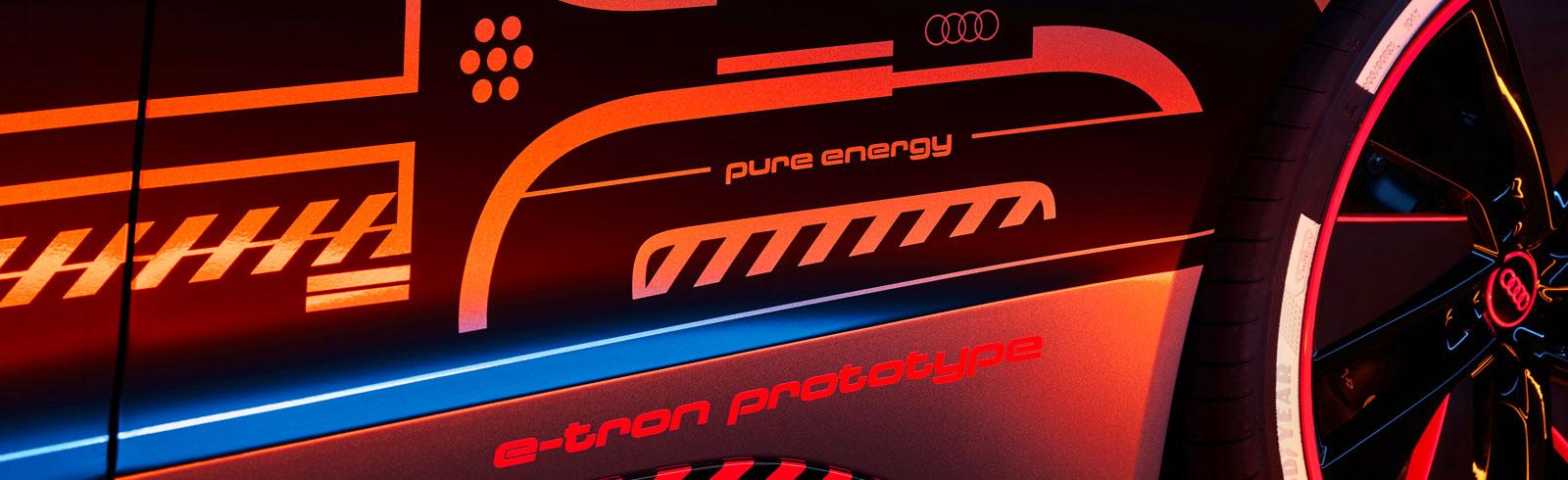 Audi e-tron GT enters carbon-neutral series production at the Böllinger Höfe
