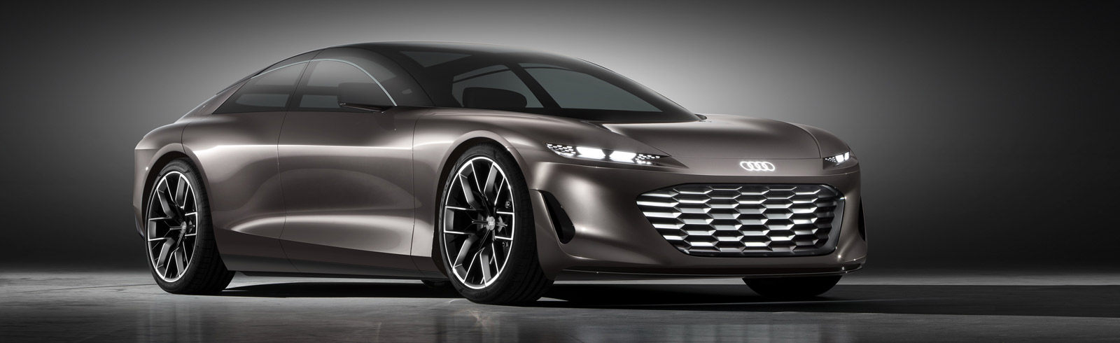 Audi grandsphere concept - luxury sedan with an electric drive system