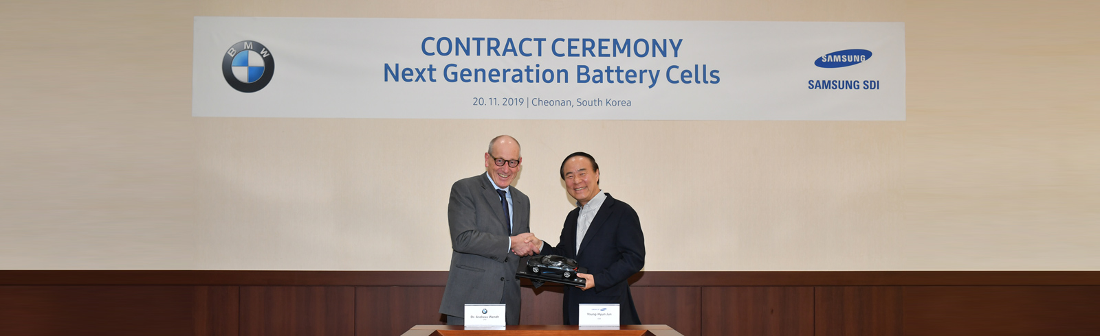 BMW and Samsung SDI make a 2.9 bln-euro EV battery supply deal, increases CATL deliveries as well