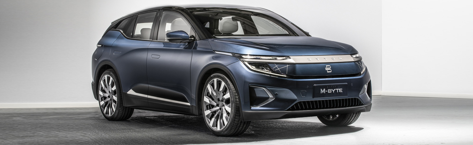 The BYTON M-Byte all-electric SUV goes official with a range of up to 435 km