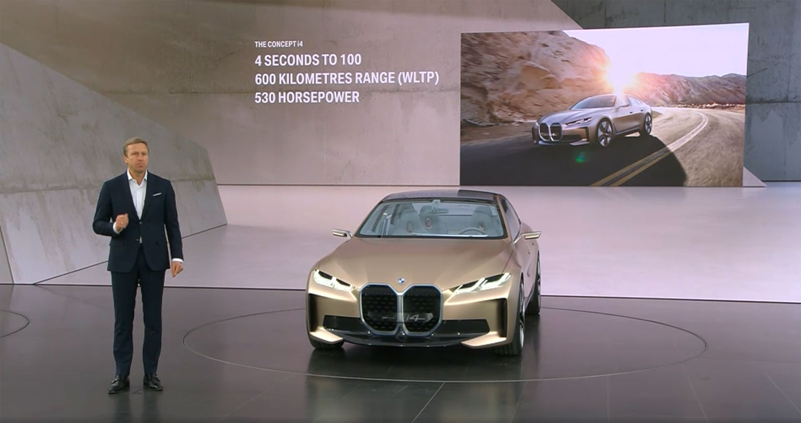 The Bmw Concept I4 Goes Official With A Range Of Up To 600 Km 530 Horsepower