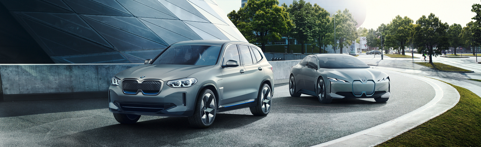 BMW iX3 teased during the BMW press conference