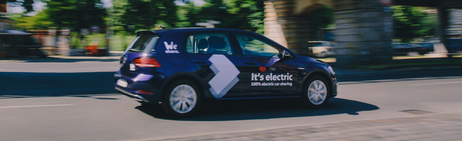 Volkswagen WeShare with a full-electric fleet is launched in Berlin