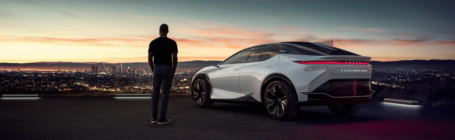 Lexus premiers the LF-Z Electrified BEV Concept