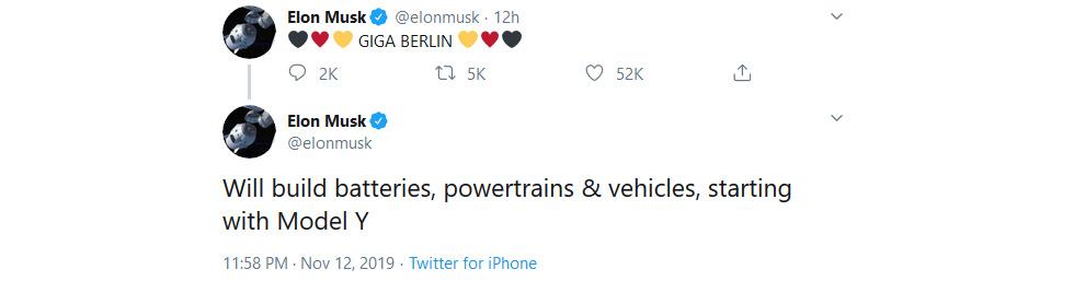 Tesla Gigafactory 4 will be built in the Berlin area