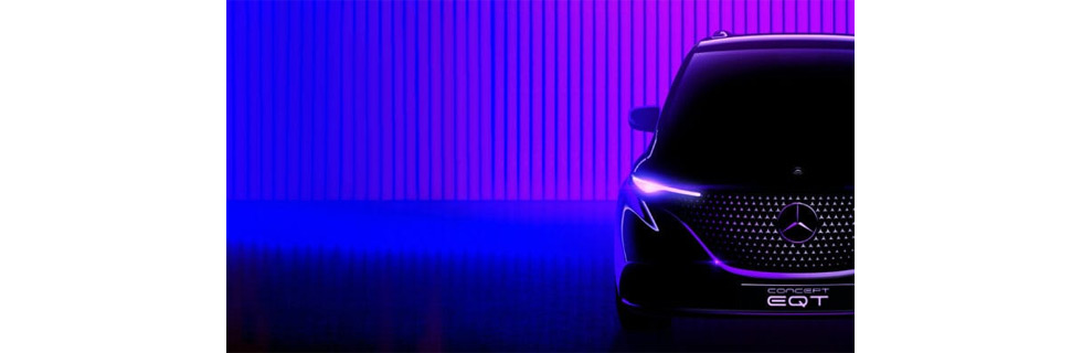 Mercedes-Benz teases the Concept EQT - pioneer of a new class for families and leisure active private customers