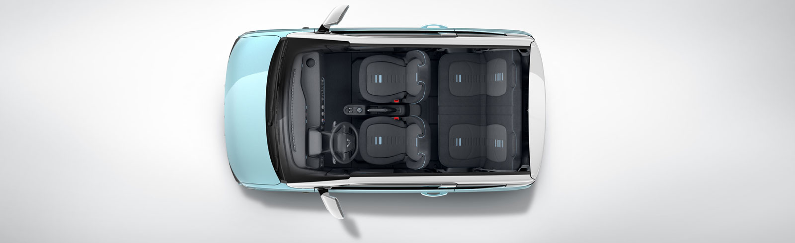GM's Wuling teases the interior of its first all-electric vehicle, inspired by the Kei-Car in Japan