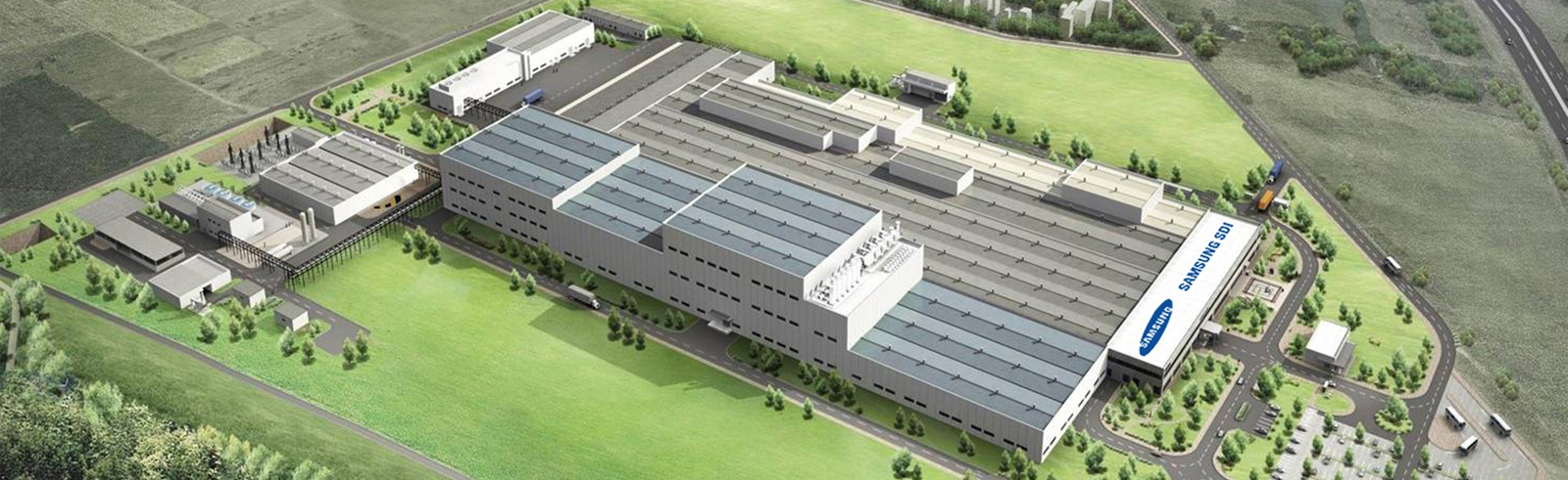 Samsung SDI places orders for equipment in its second EV battery factory in Goed, Hungary