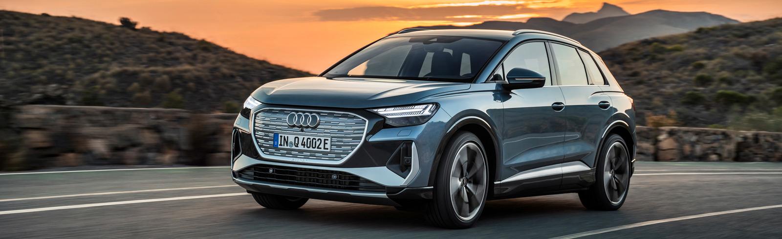 Audi Q4 e-tron and Q4 Sportback e-tron production versions are now official