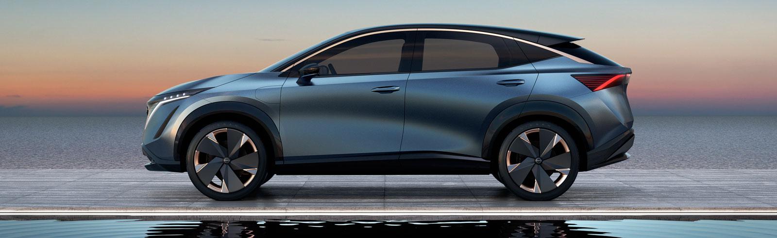 Nissan Ariya will be presented on July 15