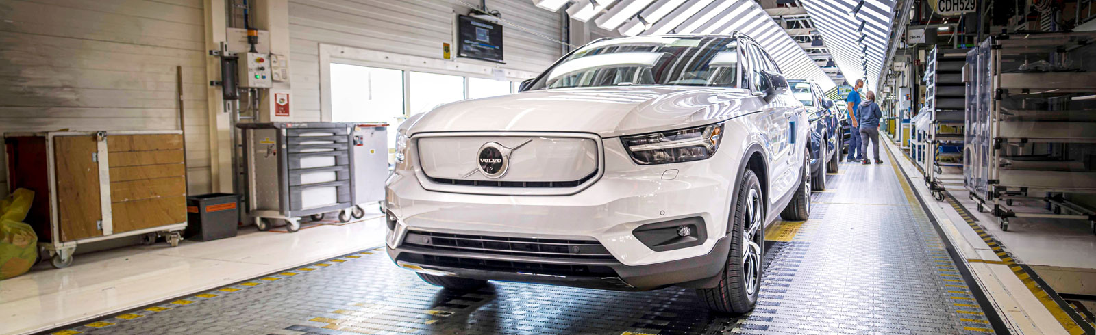 Volvo XC40 Recharge P8 AWD enters production