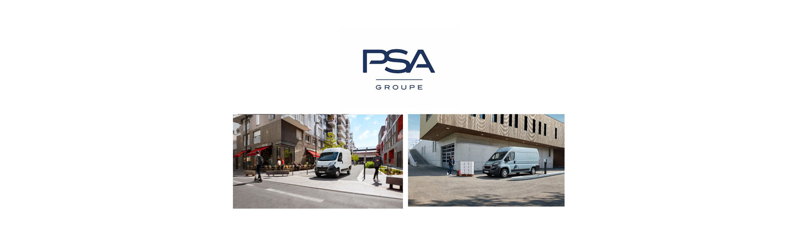 Groupe PSA presents the all-electric Peugeot Boxer and Citroën Jumper