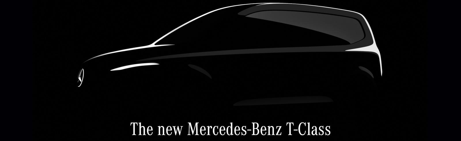 Mercedes-Benz T-Class - a new EV on a small van platform by Mercedes-Benz Vans