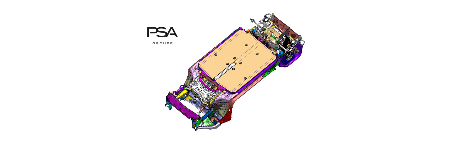 Groupe PSA presented its new eVMP platform for EVs that will debut from 2023 on