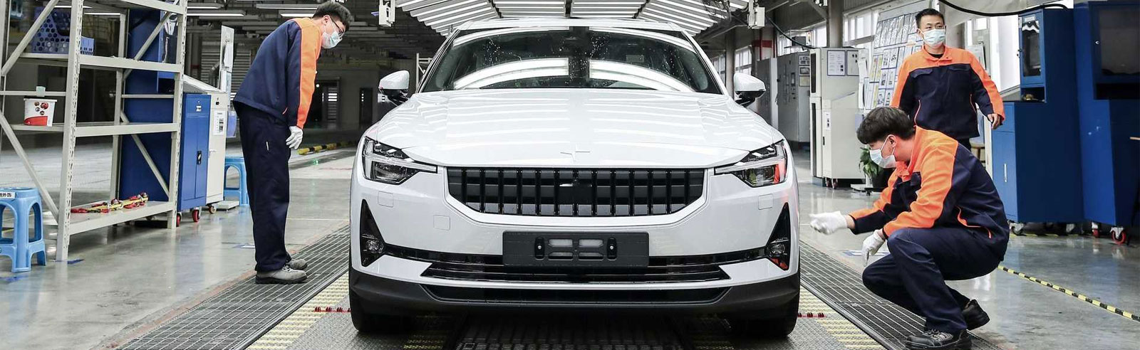 Polestar 2 is now in production in China
