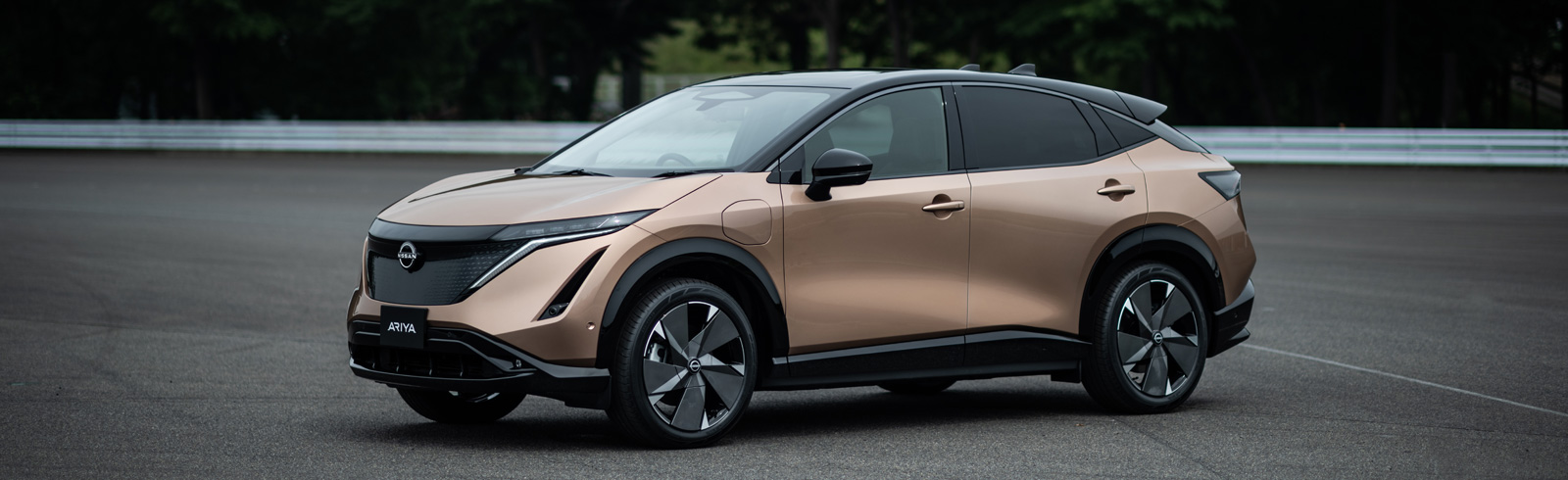 2021 Nissan Ariya debuts with up to 500 km of range together with Nissan's new logo