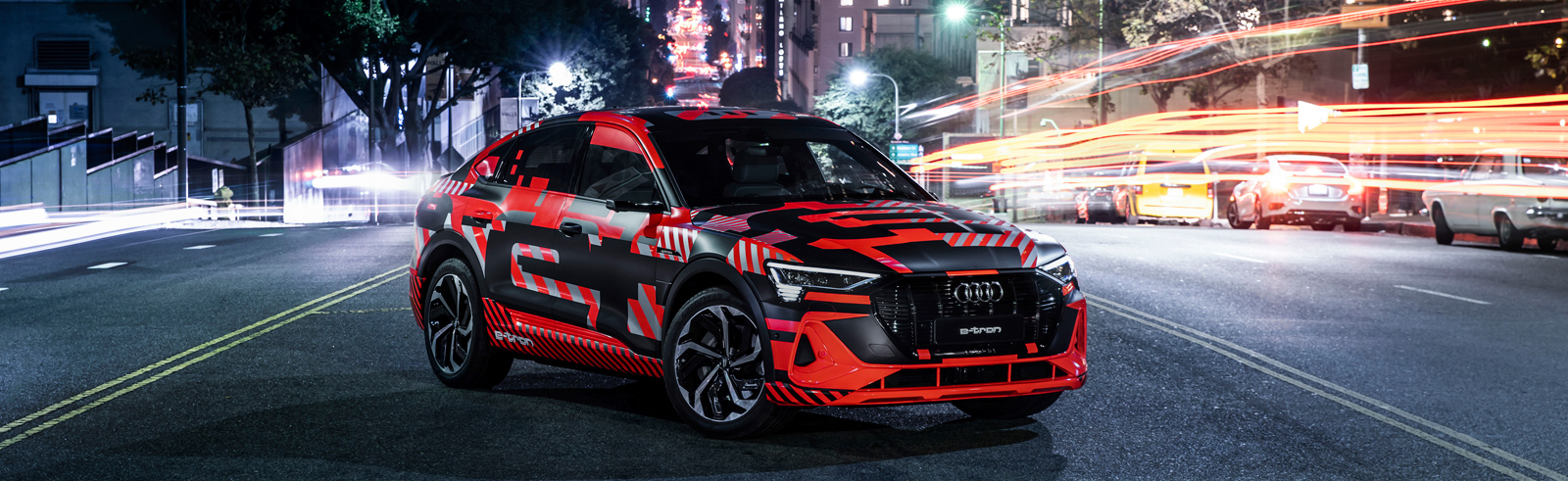 The Audi e-tron Sportback goes official with up to 300 kW of power and up to 446 km of range