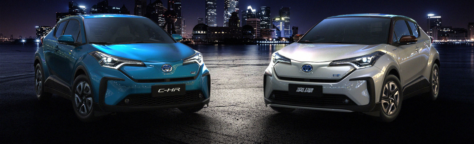 Toyota showcases the all-electric IZOA and C-HR at Auto Shanghai 2019