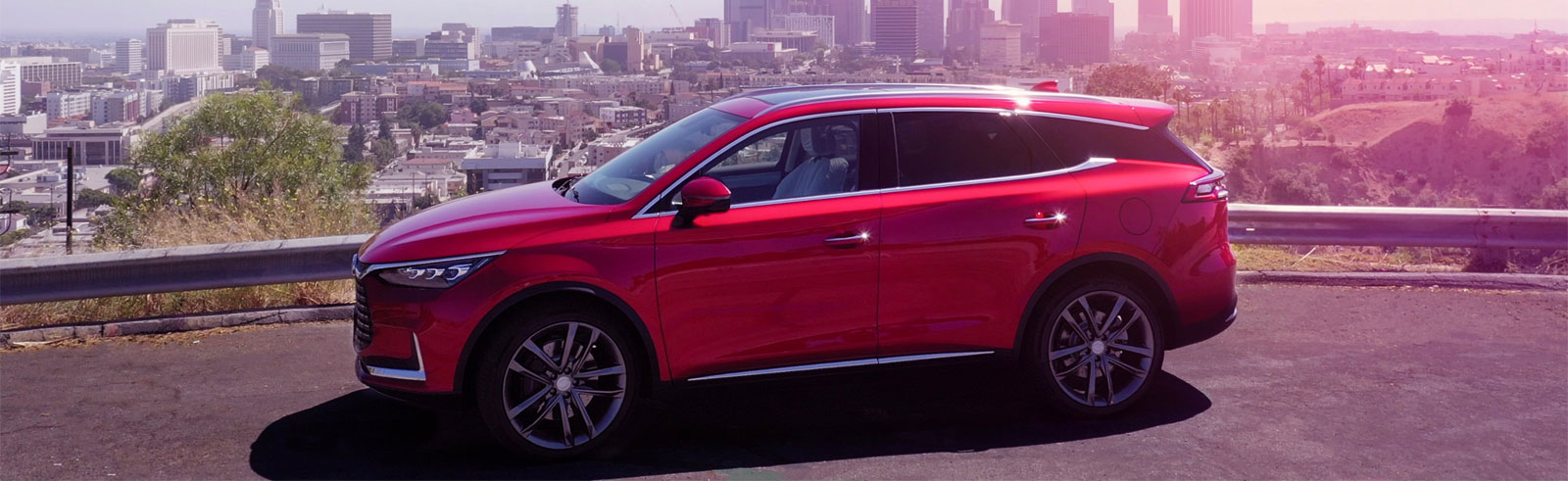 BYD Tang EV will visit the Concours d'Elegance in Pebble Beach, CA