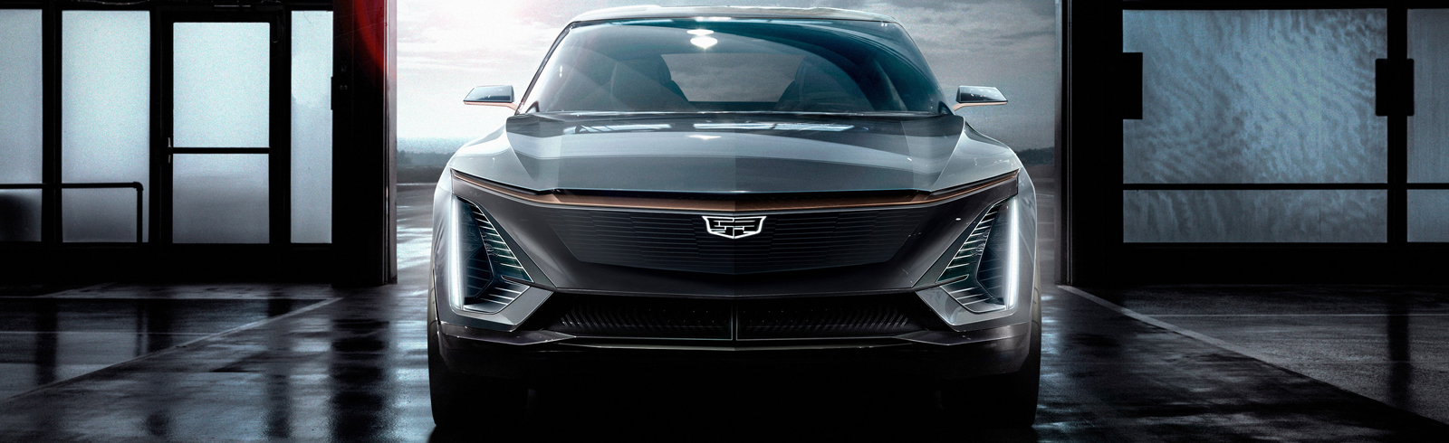 Cadillac unveils concept photos of its first electric vehicle, the brand will lead GM's next generation of EVs