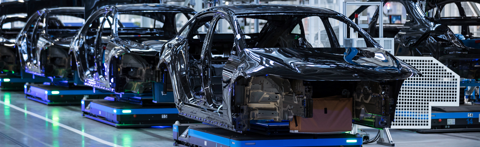 The Mercedes-Benz EQS enters production at Factory 56 in Sindelfingen