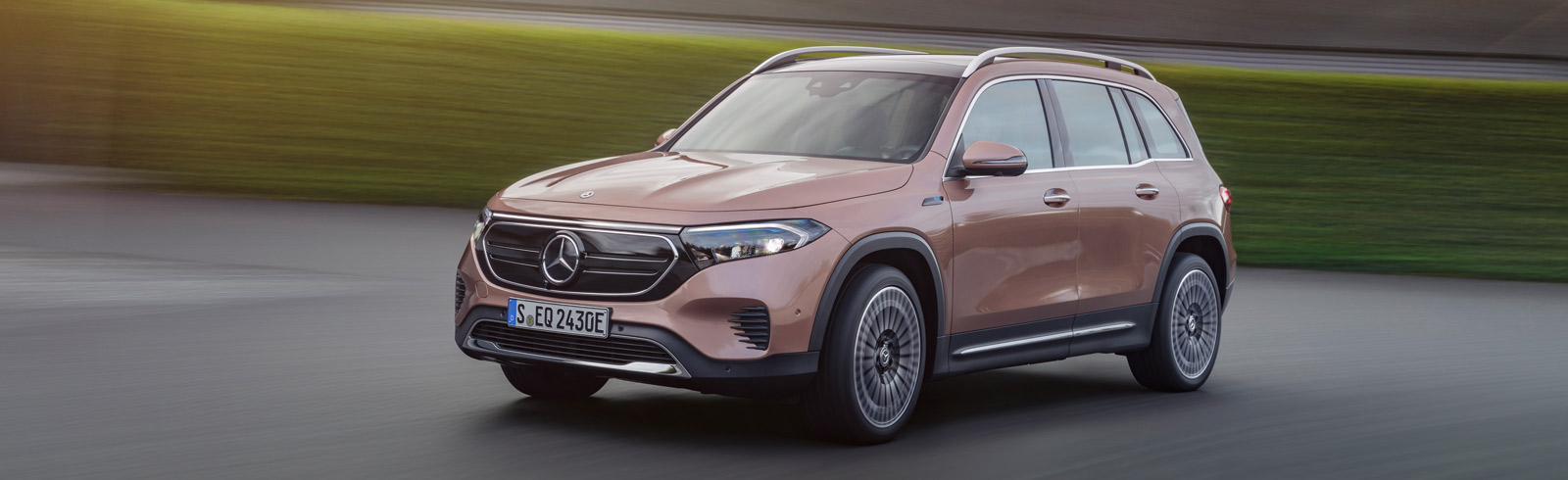 Mercedes-Benz EQB - an all-electric compact SUV with up to seven seats enters production