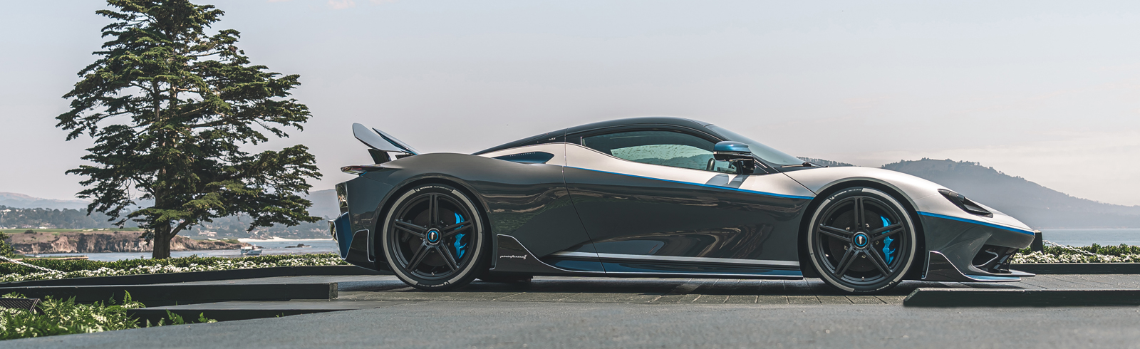 Pininfarina Battista hyper GT made its world debut at Monterey Car Week