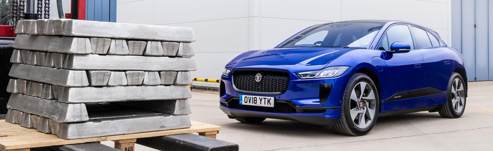 Jaguar Land Rover gives aluminium a second life