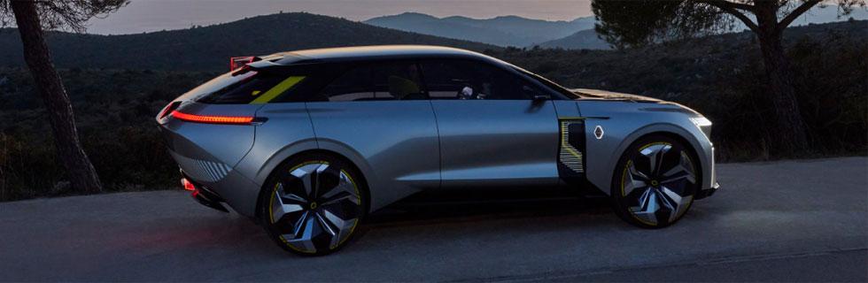Renault unveiled its MORPHOZ electric concept car