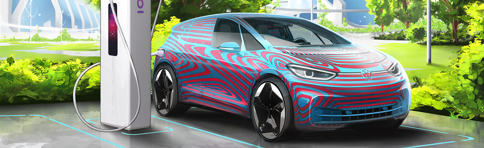 Volkswagen plans on installing 36,000 charging points in Europe by 2025